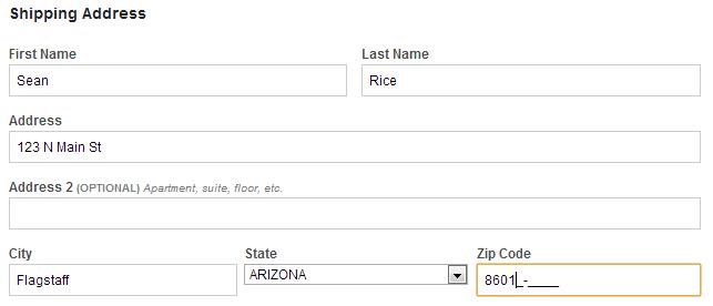 what is my full nine digit zip code